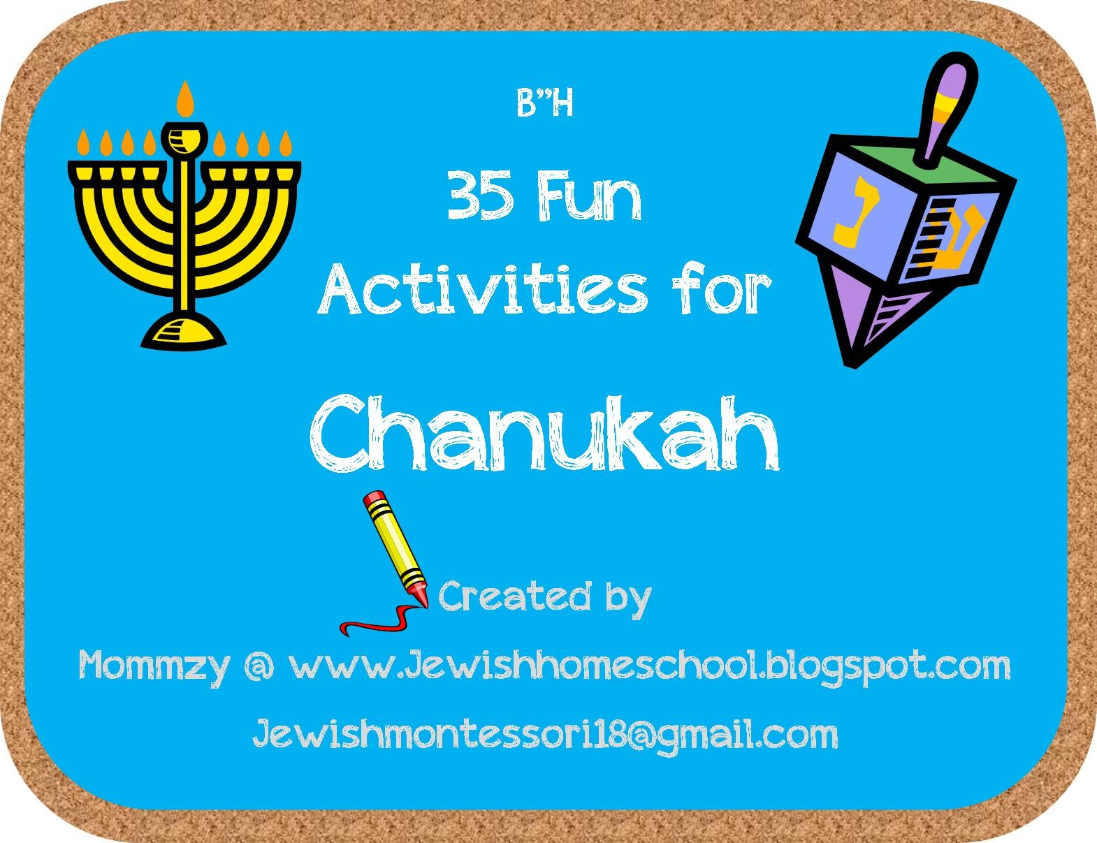 35 Fun Activities For Chanukah From Our Jewish Homeschool