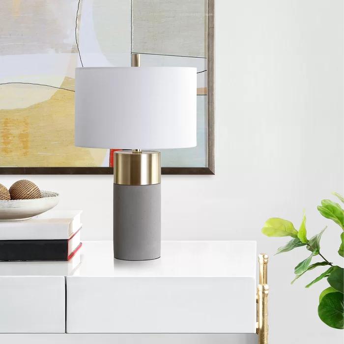 Fegan 22 Table Lamp Set in 2020 | Grey