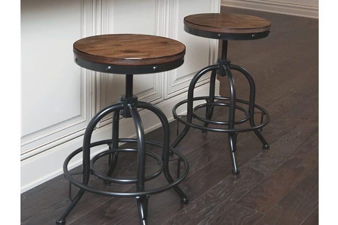 34 stunning farmhouse style bar stools ideas easy to decor