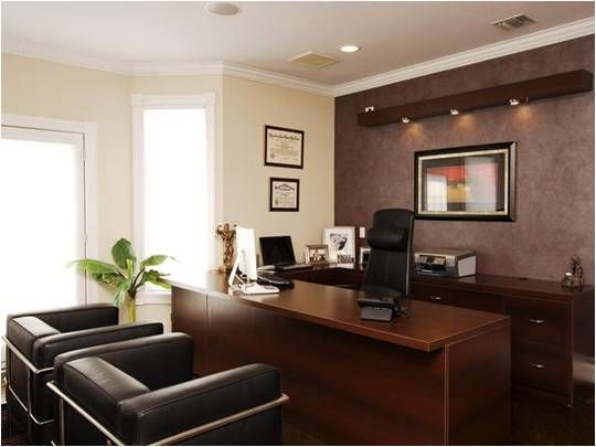 executive office the ceo s of two different on office paint color ideas id=94968