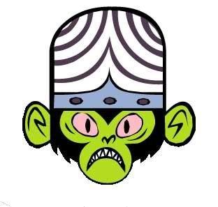 Mojo Jojo Cartoon Stickers Girl Stickers Print Stickers