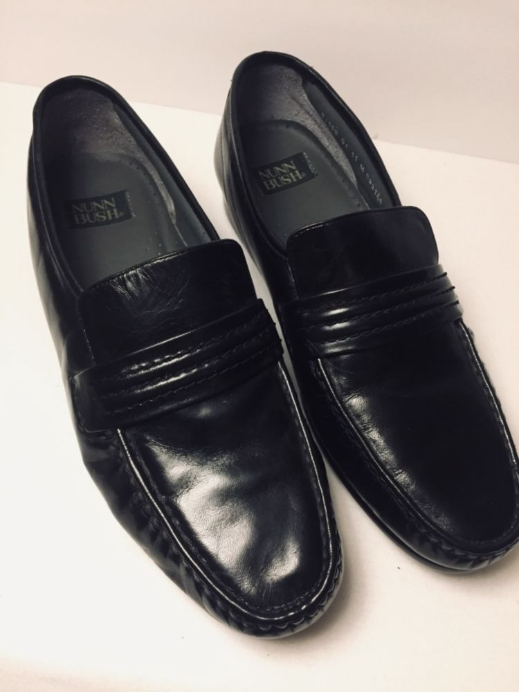 e3318b2c1 Mens Nunn Bush Moc Toe Leather Loafer - Size 11 Black  fashion  clothing   shoes  accessories  mensshoes  dressshoes (ebay link)