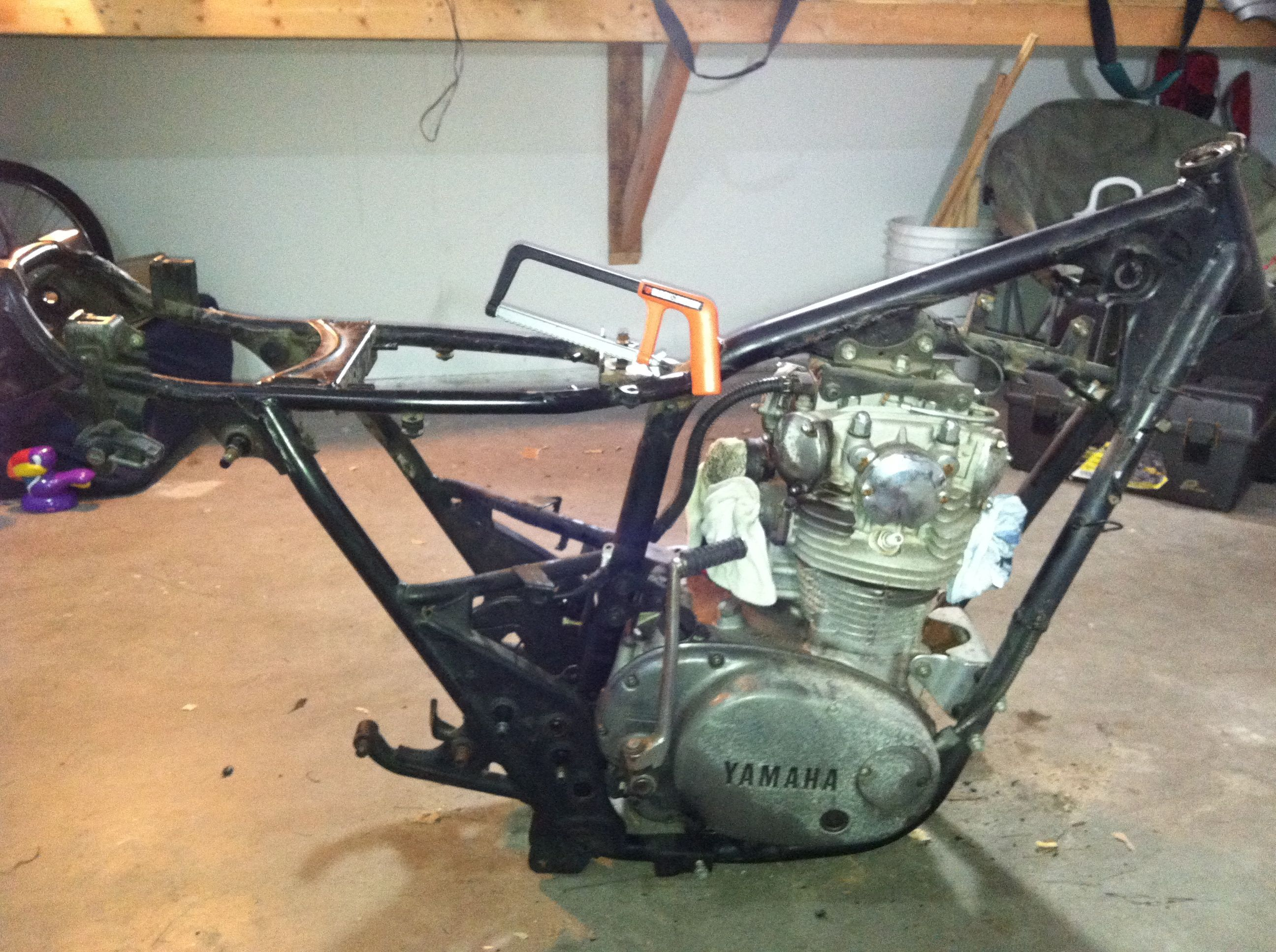 yamaha xs650 frame google search xs650 pinterest