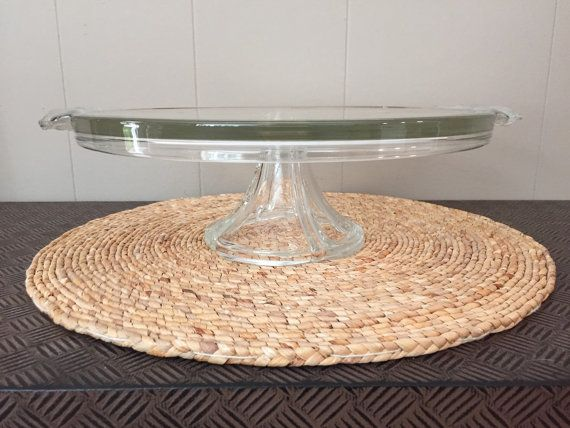 Vintage Cake Stand Glass Crystal Mikasa by LOVEitAllBoutique | LET ...