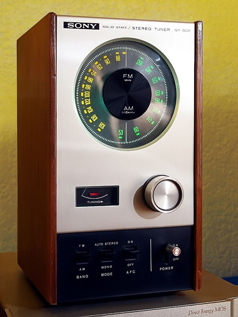 SONY ST-88 FM Stereo/FM-AM Tunes