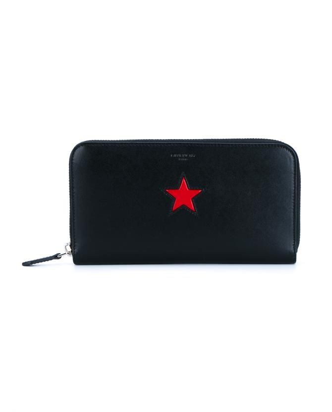 GIVENCHY | Leather Star Wallet