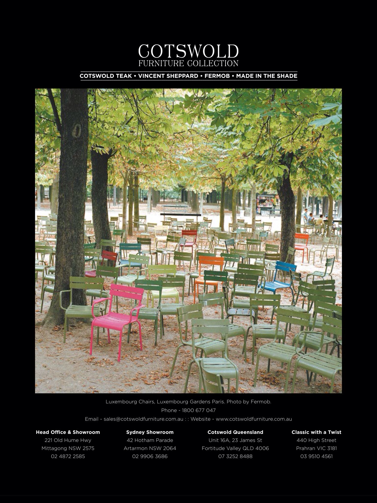 Luxembourg garden chair green!