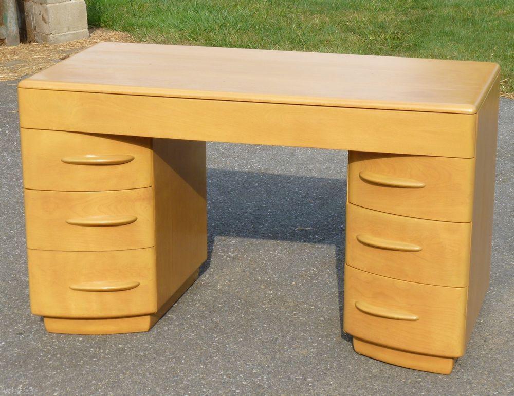 Heywood Wakefield Kneehole Desk M315w