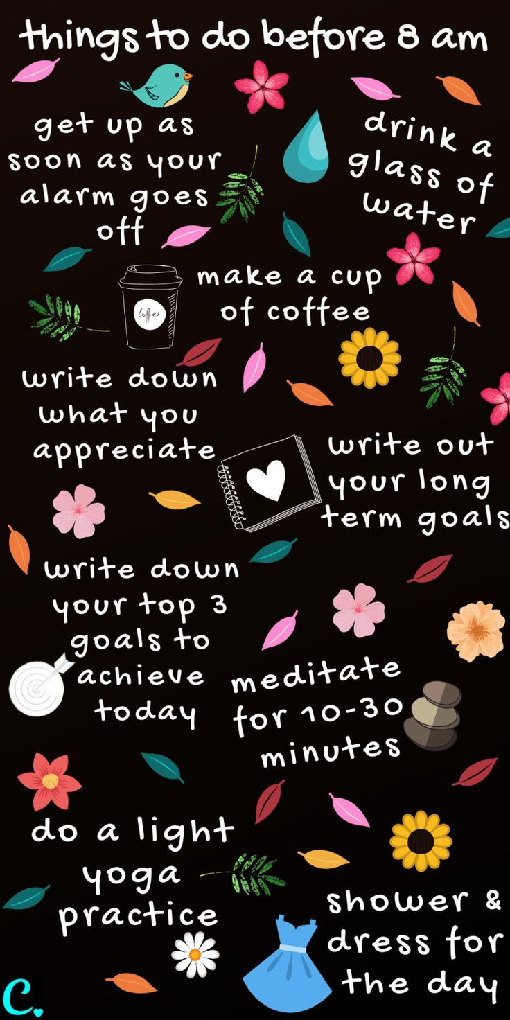The Best Morning Routine: 8 Things To Do Before 8 a.m. – Captivating Crazy #newyearsresolutionbulletjournal