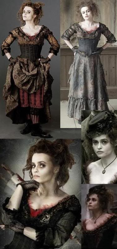 sweeny todd mrs lovett tim burton pinterest halloween ideen faschingskost me und kost m. Black Bedroom Furniture Sets. Home Design Ideas