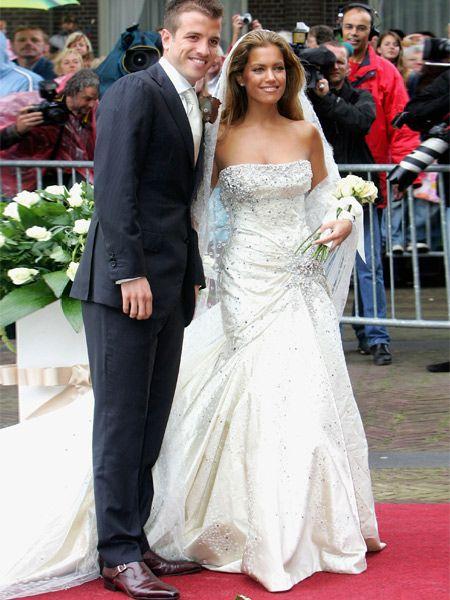 Love the weddingdress Sylvie van der Vaart worde during her