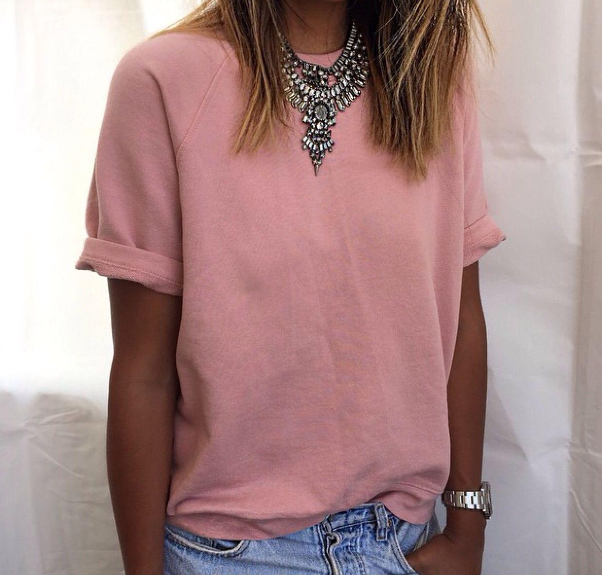 Casual pink dress shirt  pinterest morgangretaaa  Vaatetus  Pinterest  Clothes Clothing