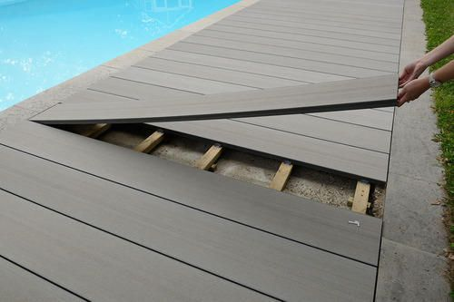 Waterproof Tongue And Groove Wood Plank Plastic Decking Wpc Decking Deck