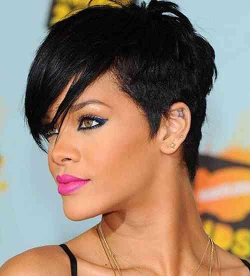 Virtual Hairstyle For Your Face: 22 Ja Wirklich Bilder Of Rihanna Frisur Kurz