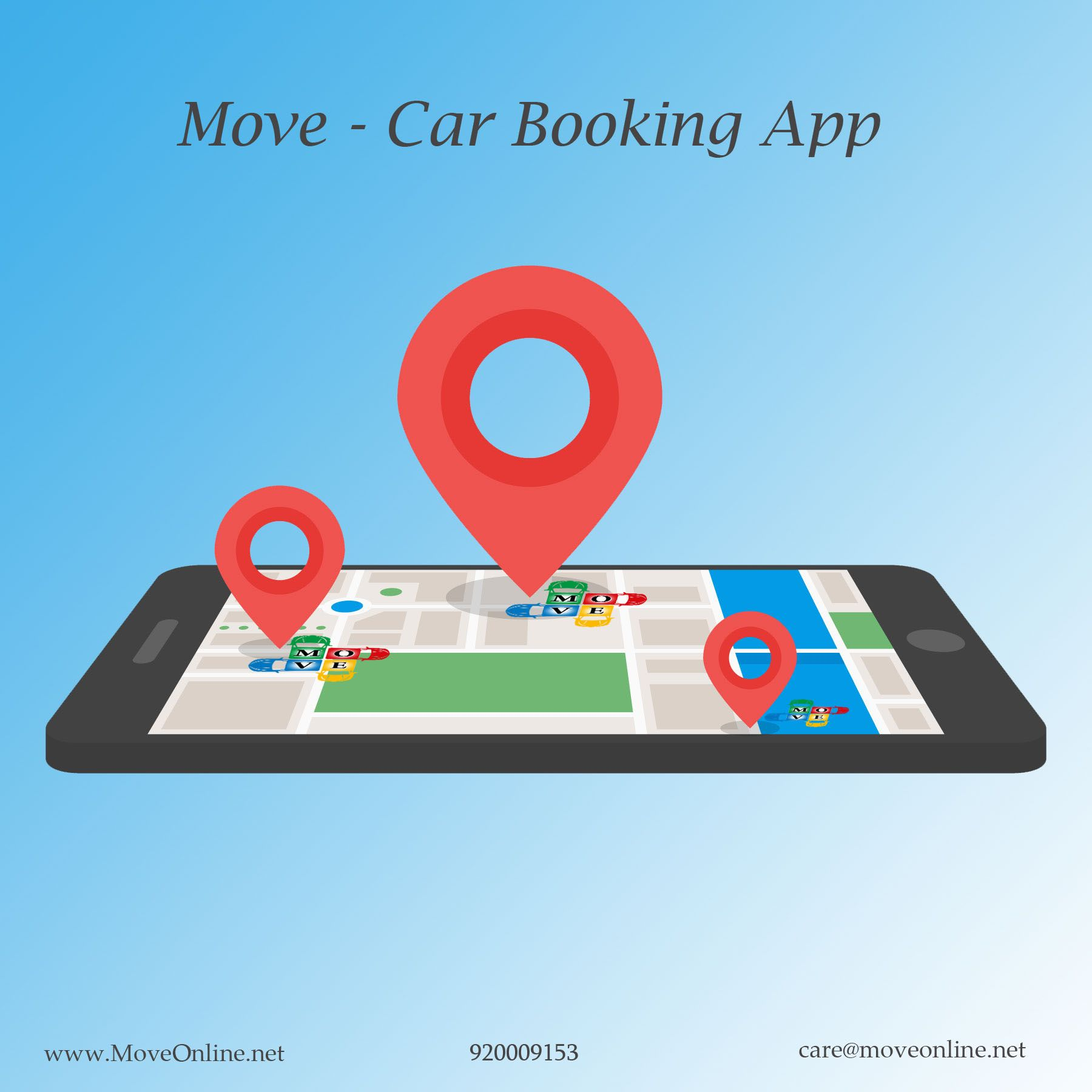 Move Car Booking App in Jeddah Move is A Car Booking App