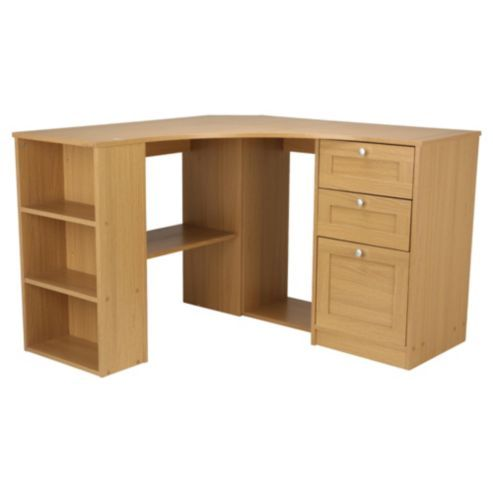 buy fraser corner desk with storage from our office desks tables range tescocom