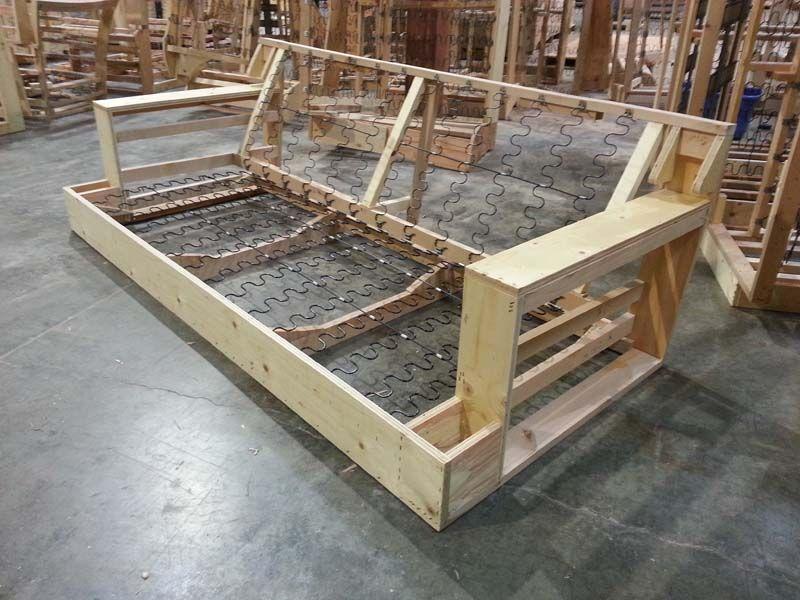 Sofa Frame Construction Plans Our Houzz Sofa Frame Diy Sofa Wood Sofa