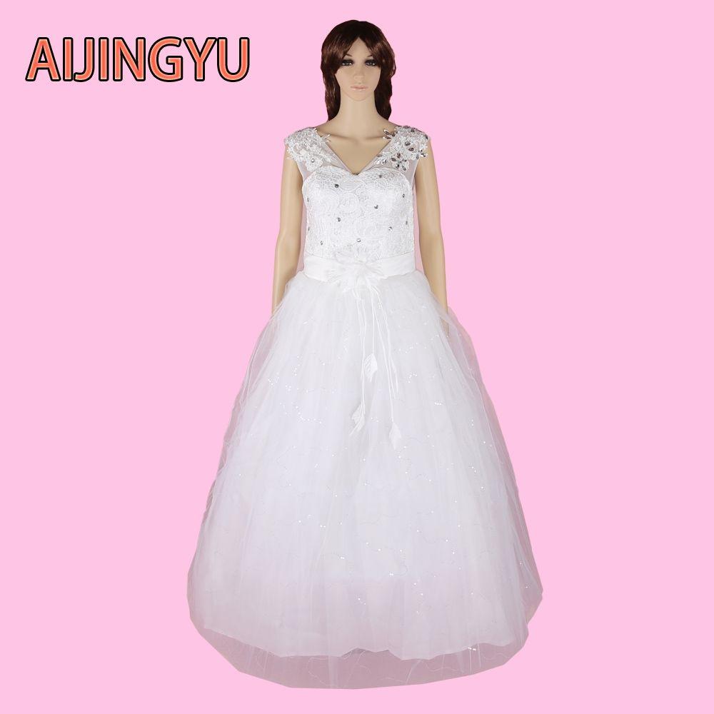 13bb64b7b033f AIJINGYU 2017 new free shipping sexy women girl princess wedding ...