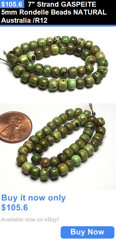 Women Jewelry: 7 Strand Gaspeite 5Mm Rondelle Beads Natural Australia /R12 BUY IT NOW ONLY: $105.6