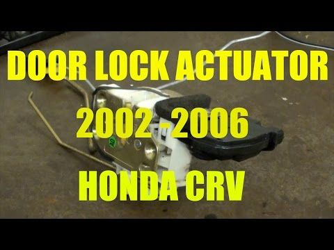 How To Install Replace Rear Door Panel Honda Cr V 02 06 1aauto Com Youtube Honda Crv Honda Cr Honda
