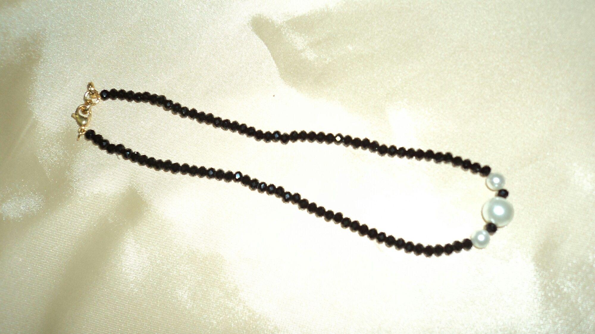 Collar murano, perlas