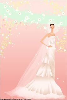Imprimir dibujos de novias  despedida de soltera  Pinterest