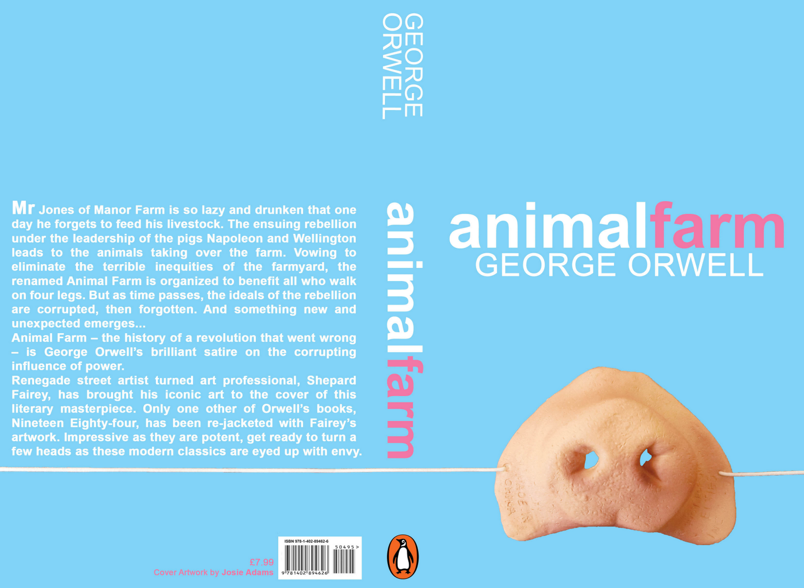 Exercise Book Cover Designs In Png Invitation Templates Animal Farm Book Animal Farm George Orwell Book Cover Design