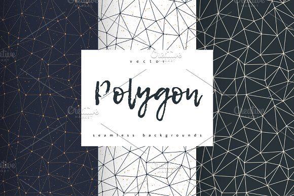 Polygon by Marina Demidova on @creativemarket