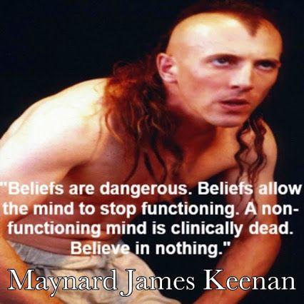 Maynard james keenan atheist