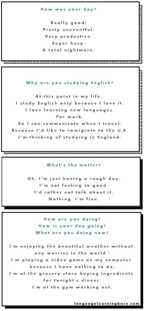 Ask and Answer Questions - 10 Basic English Questions