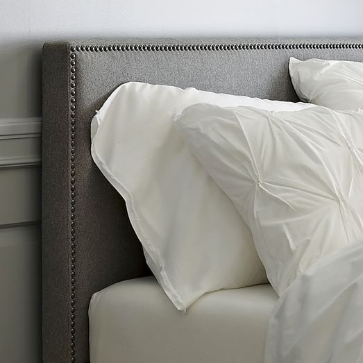 Nailhead Upholstered Headboard | Cozy Rooms | Nailhead ...