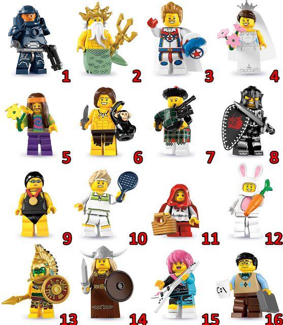 Red Brick Lego Store: 8831 - Lego Minifigures Series 7 | Legos ...