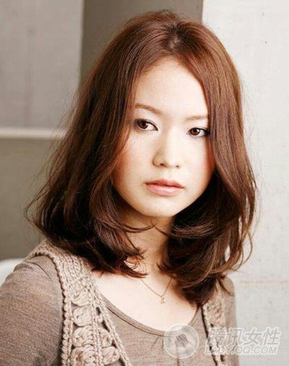 Medium Length Blow Dry Style Asian Hair Medium Hair Styles Blowdry Styles