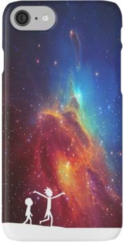 Rick and Morty - Star Viewing 2 iPhone 7 Cases