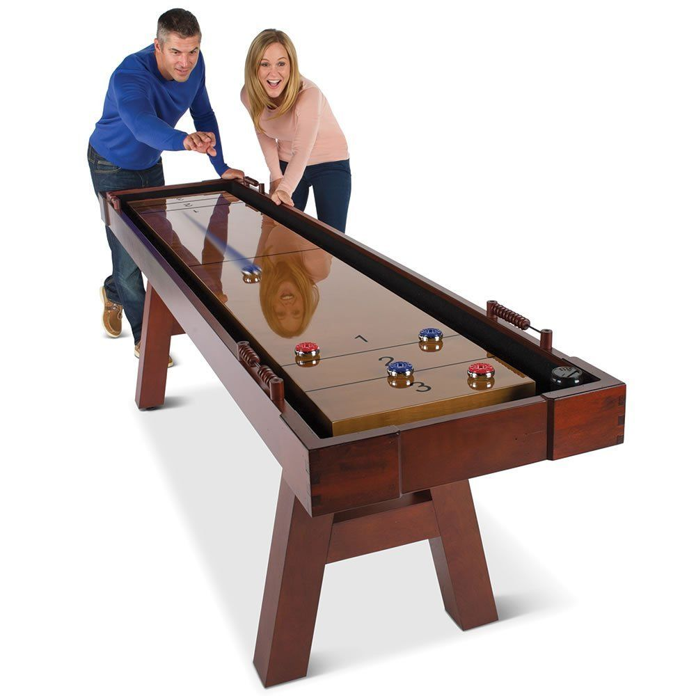 This Is The 9 Long Shuffleboard Table That Can Be Played