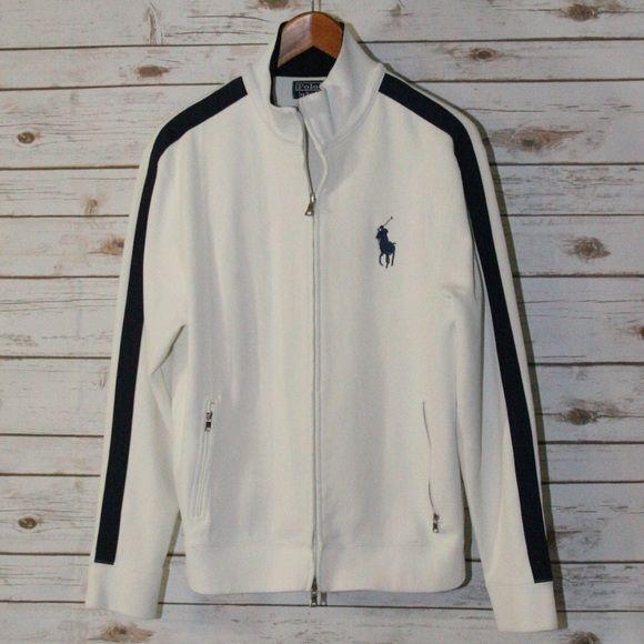 separation shoes 7033f 187ef Men's Polo Ralph Lauren big pony track jacket Men's size M ...