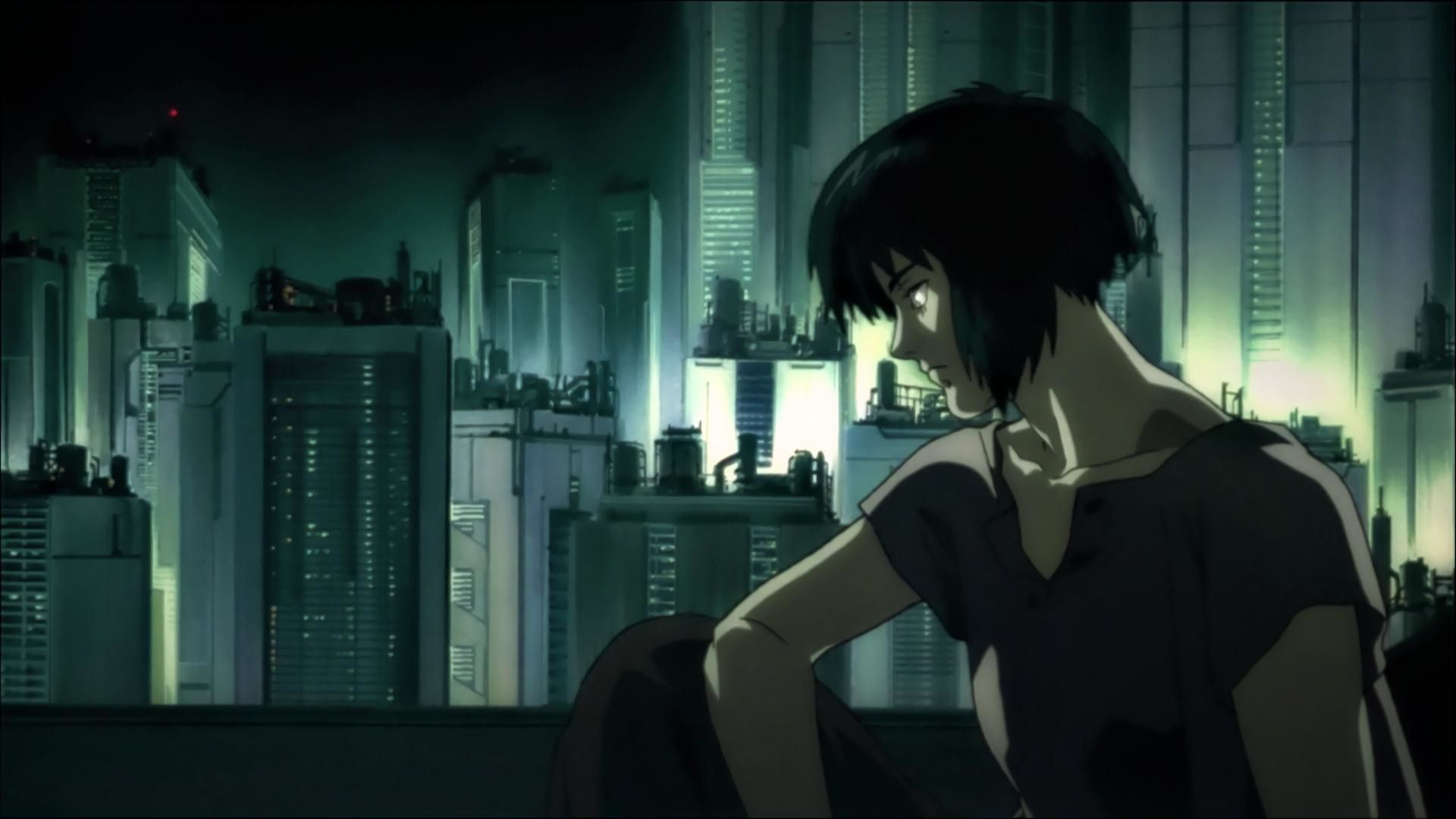 Ghost In The Shell Mamoru Oshii 1995 In 2020 Ghost In The Shell Ghost Anime Wallpaper