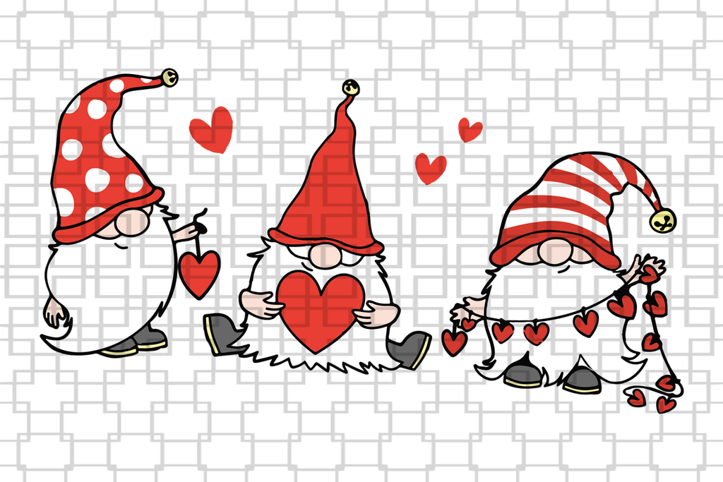 Download Free Svg Gnomes Welcome File For Cricut