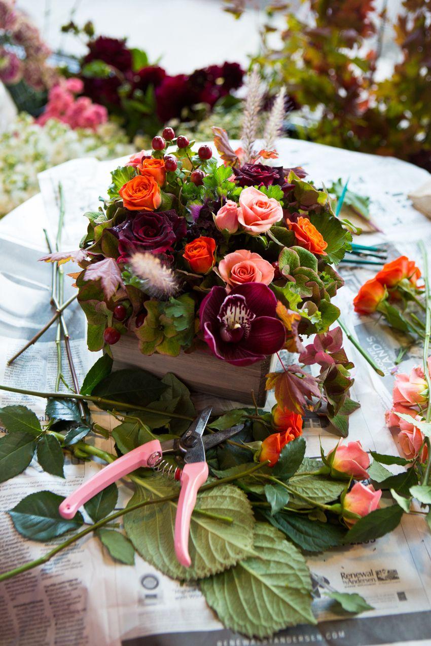 Beautiful Fall Floral Bouquet Flower Arrangements Pinterest