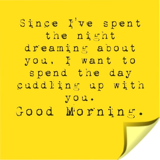 Cute Rad Morning Quotes Due to the fact that Your Girlfriend