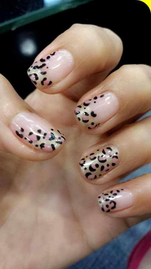Best Leopard Print Nail Designs Summer Wild One Animal Fashion