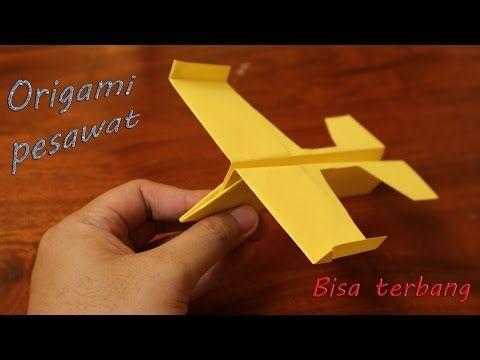 Origami Pesawat Luncur Terbang Jauh