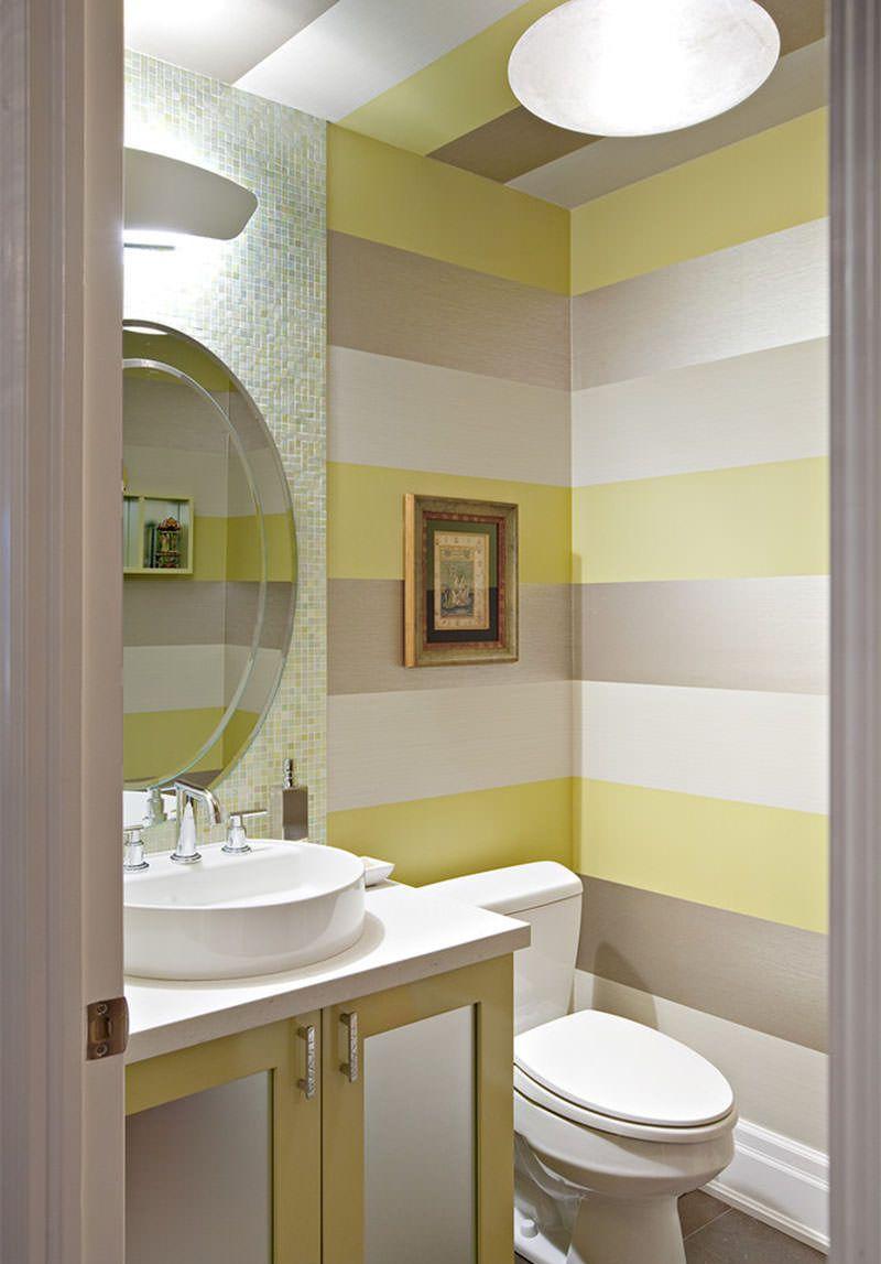 10 ideias muito legais de pintura de parede bathroom - Pintura especial para banos ...