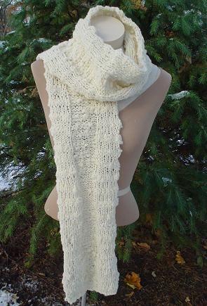 10 Stylish Free Knitting Scarf Patterns 7