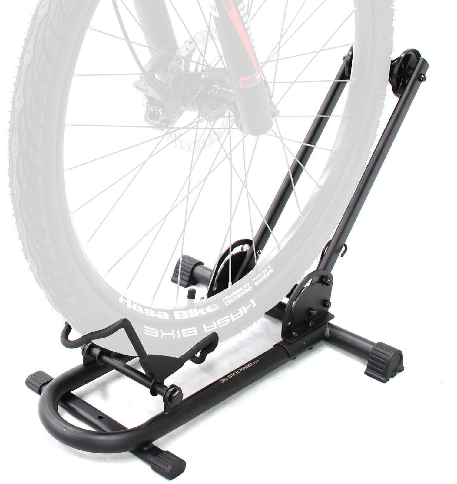 Bikehand Bike Floor Parking Rack Storage Stand Bicycle Patented Simple