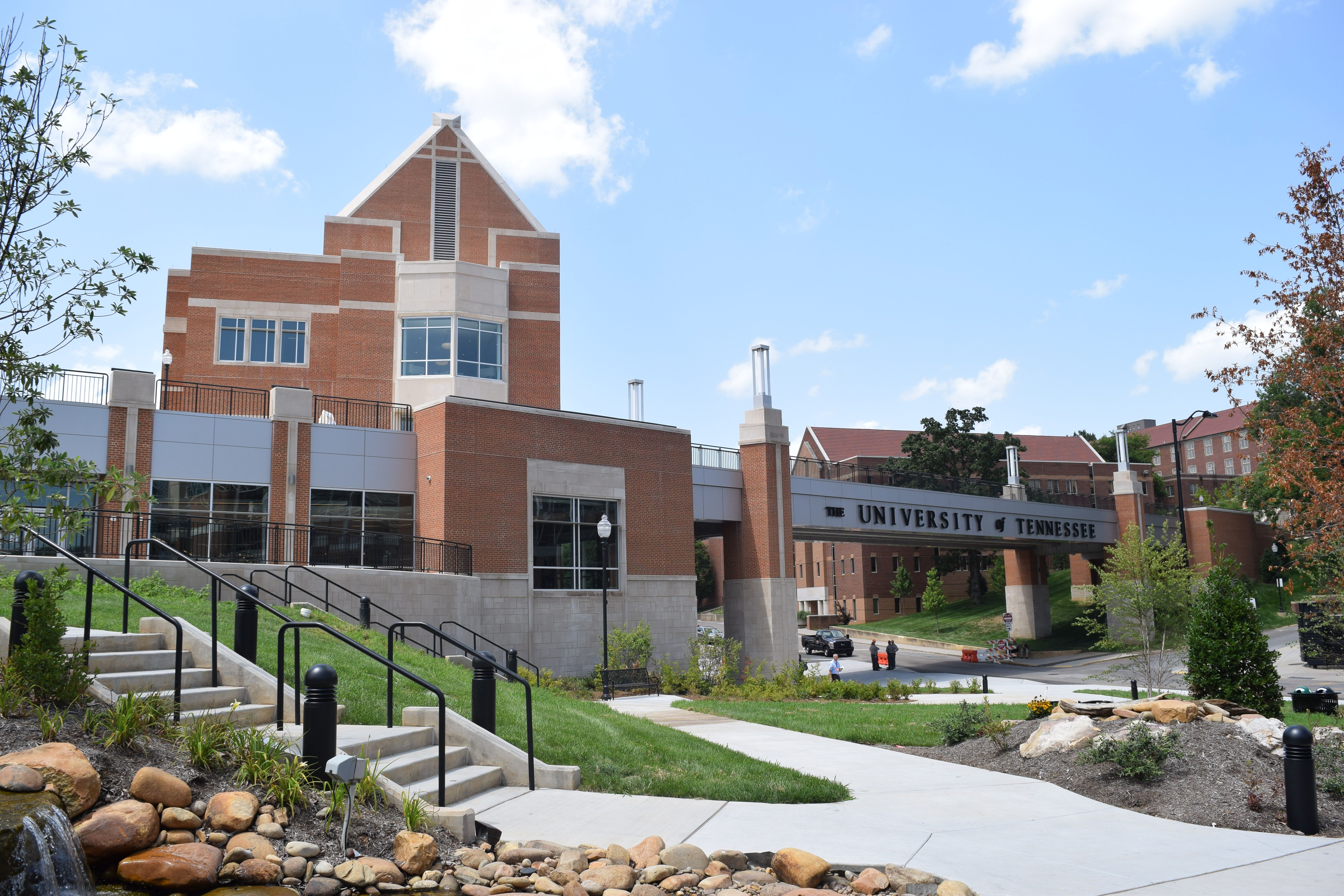 New Student Union At The University Of Tennessee Knoxville With