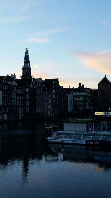 Damrak Foto door Deborah van der Vliet