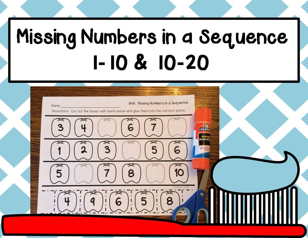 Missing Numbers In A Sequence 1 10 And 10 20 Dental