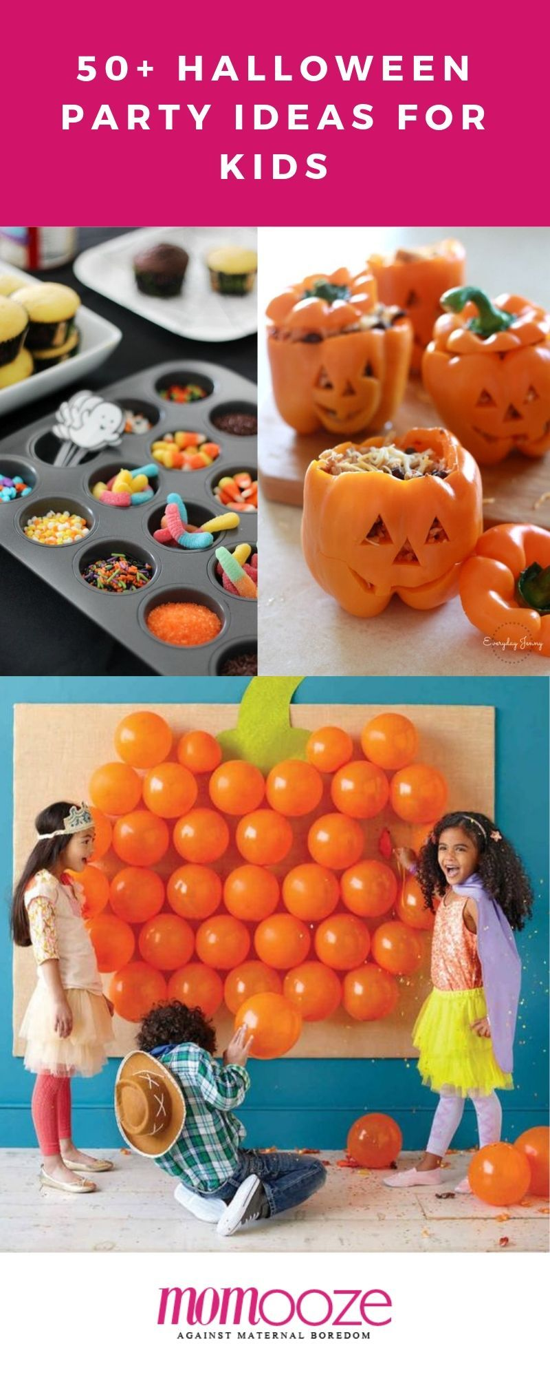 50+ Spooky Halloween Party Ideas for Kids Halloween