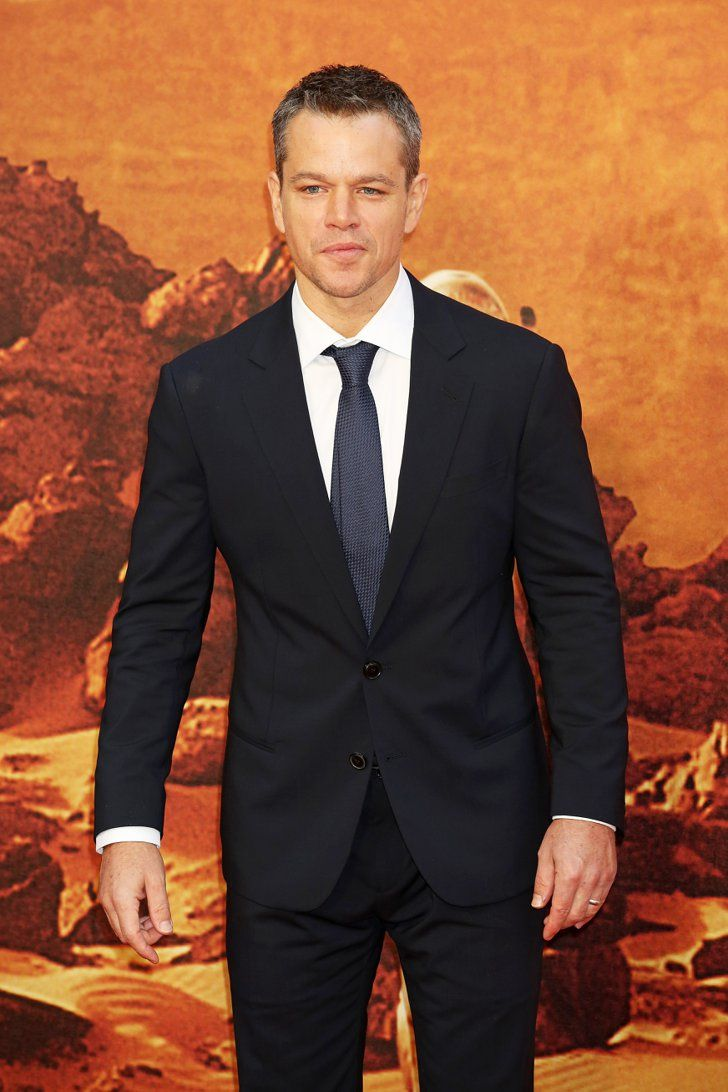 Matt Damon's Smile Is Contagious at the London Premiere of The ...